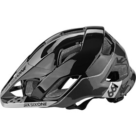 SixSixOne EVO AM Casque, metallic black